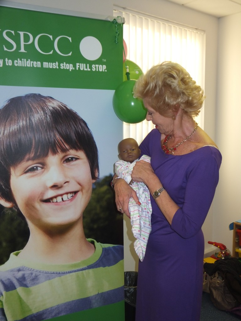 Donation 2013 to NSPCC - Baby Steps Hounslow