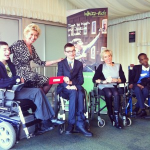 Donation 2013 to Whizz-Kidz