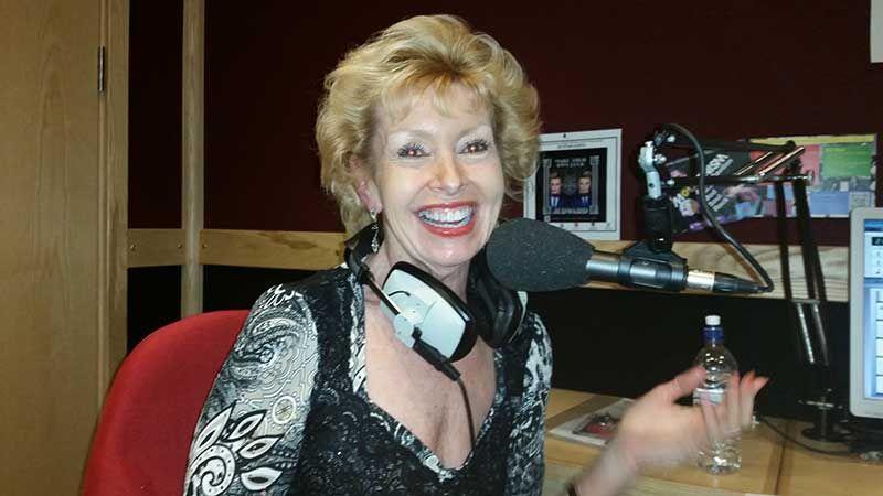 Charlotte Grobien at Radio Woking