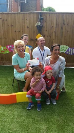 Charlotte Grobien Donates To Oasis