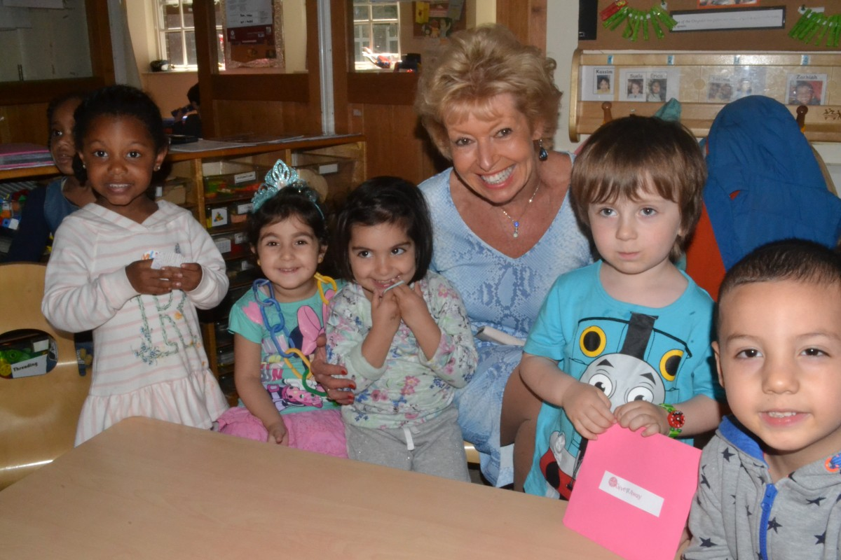 Charlotte Grobien continues to support LEYF - London Early Years Foundation